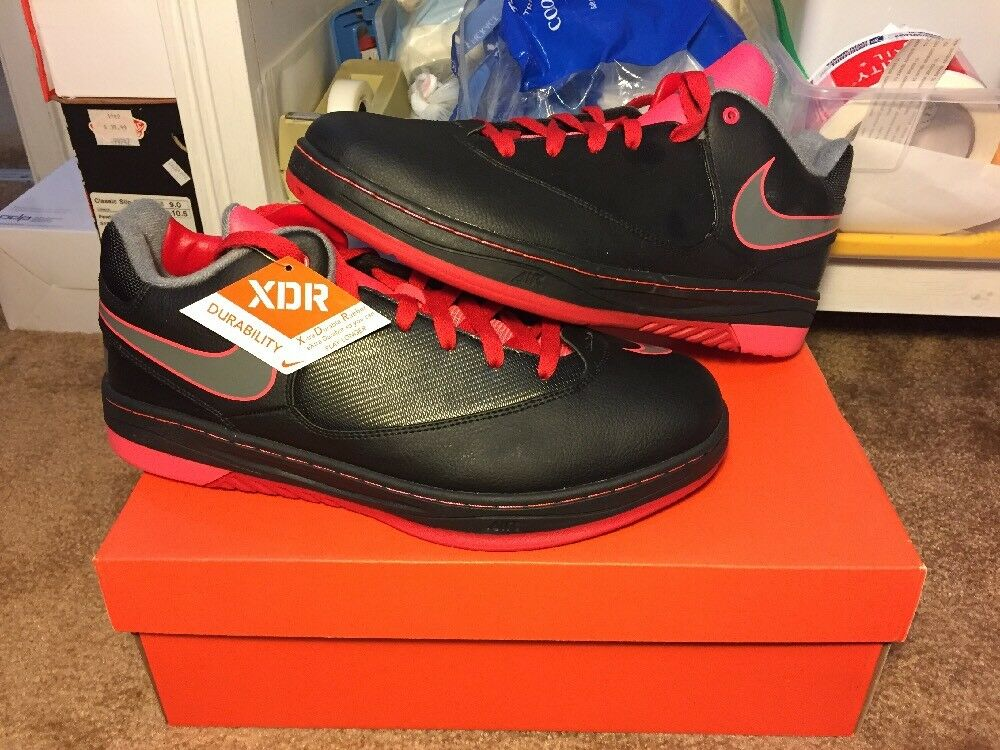 save off 78969 660dd New Nike Lebron E. E. E. E Samples Black Grey Red Size 9 (540795-007) f2940e