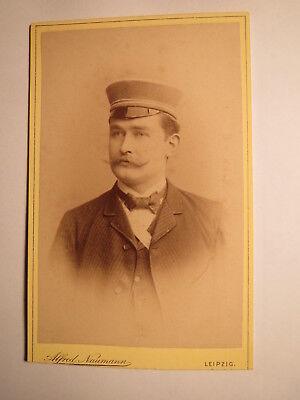 Leipzig - Oldenburg - 1892 - Ed. Rahlff In Couleur - Cdv / Studentika SorgfäLtige FäRbeprozesse