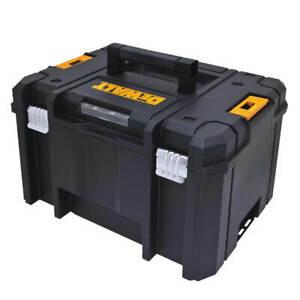 DEWALT DWST17806 TSTAK 44 lb. Deep Storage Box with Flat Top