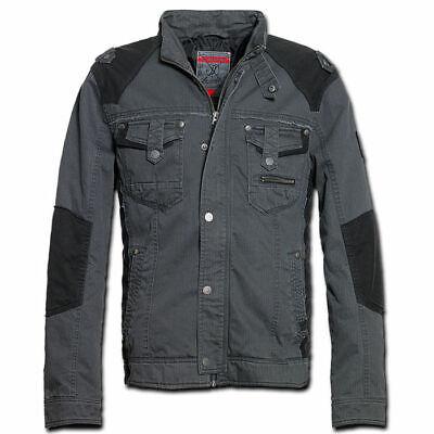 Brandit 3129.2 Blake Vintage Retro Mens Biker Jacket Casual and Sport Black
