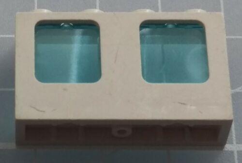 LEGO 61345 Plane Window 1x4x2 Single Hole Top /& Bottom for Glass 60101   x1