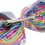 18cm Girls Hair Clip Glitter Bow School Dance Party Hair Accessories Unicorn