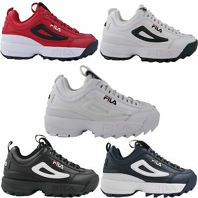 Fila Mens Disruptor II 2 Premium Heritage Fashion Sneakers Chunky Shoes 1FM00139 | eBay