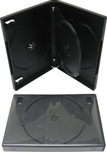 1-Triple-Three-Disc-3-DVD-Box-Case-Black-Multi-22MM-With-Tray-DV3R22BKWT