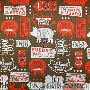 BonEful Fabric FQ Cotton Quilt Blue Red Green Barn Xmas Santa Animal Farm Pig US Crafts