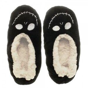 image is loading nightmare before christmas jack plush cozy unisex slippers