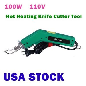 Details about 100W 110V Hot Heating Knife Cutter Cutting Tool for Fabric  and Rope USA Stock