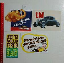 Aufkleber/Sticker: Tabak Tobacco Zigaretten Konvolut - L&M Marlboro (10101663)