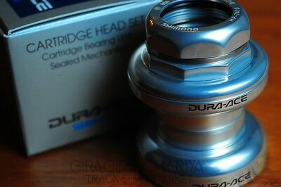 "Shimano Dura Ace HP-7410 1/"" Threaded Headset Road//Track NJS JIS or ITALIAN"