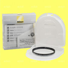 Genuine Nikon 52mm Neutral Color NC Filter Lens Protector Clear Filter NC-52 mm