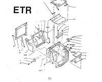 Bronica Etr Body / Film Back Parts List On Cd