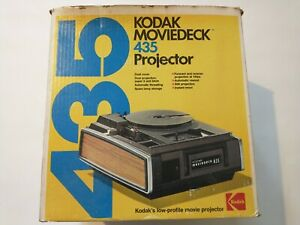 Kodak-Moviedeck-435-Projector-SUPER-8-8mm-Movie-In-Box-Instructions