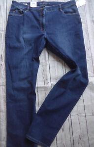 Normal Bleu Femmes tirement Et Gr Jeans Long Brax Pantalon 48 Des 42 1wzqUXXTF
