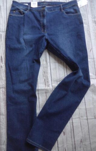 Bleu Brax Femmes Long Et Des Pantalon 42 48 tirement Jeans Gr Normal wXqSxH