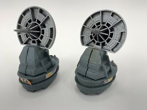 Star-Wars-1982-ROTJ-Return-Of-The-Jedi-Radar-Laser-Cannon-Toy-Kenner-LOT-OF-2