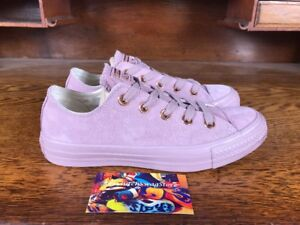 6c680722f91a Converse Chuck Taylor All Star Womens Low Top Rose Gold Pink White ...