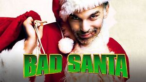 Christmas Holiday Decoration Xmas Bad Santa Movie Fridge Magnet 90