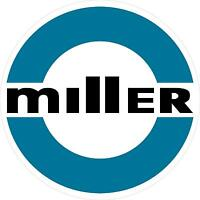 Miller Welder 1980 Decal Sticker - 5 - Set Of 2