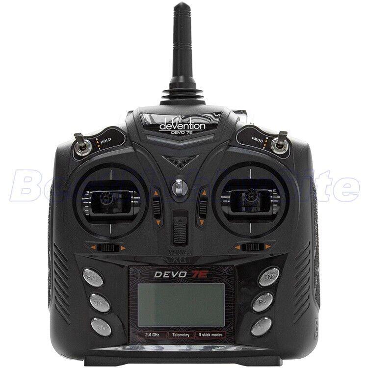 WALKERA DEVO 7E Devention 2.4GHz Telemetry Transmitter 7CH TX without Receiver