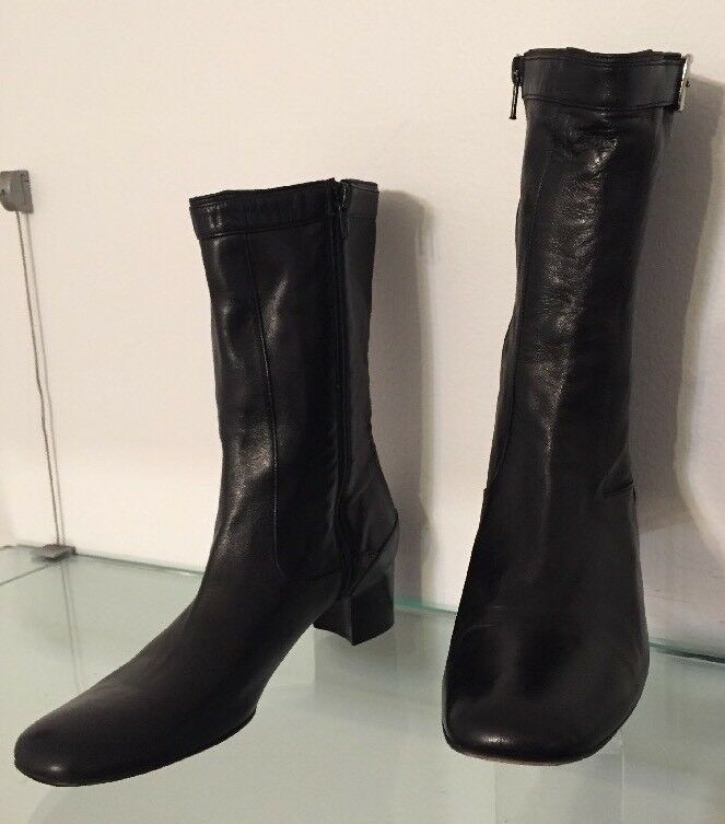 Women's 8 8 8 Cole Haan Black Leather Boots 448f78