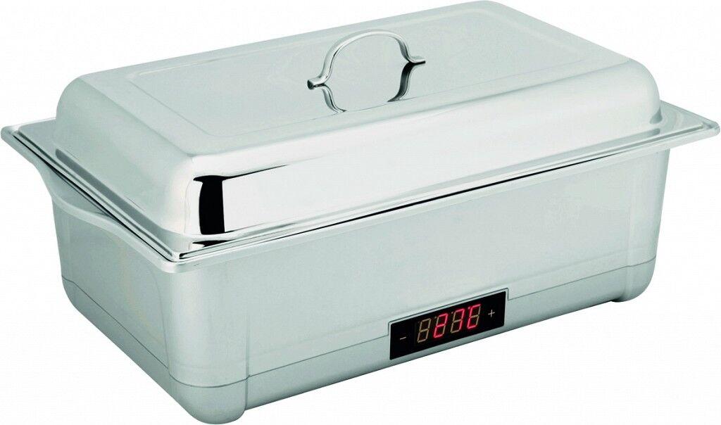 Digital Elektro baño escalfador Dish gn 1/1, baño Elektro de agua plata b0a4f5