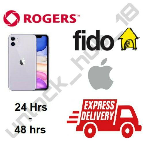 ROGERS FIDO CANADA SAMSUNG S3 S4 S5 S6 S7 EDGE S8 PLUS NOTE J3 J7 A5 UNLOCK CODE