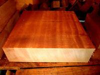 Beautiful Kiln Dried African Mahogany Bowl Blank Lathe Lumber Carve 10 X 10 X 3