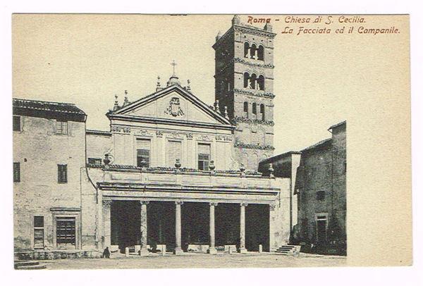 Vintage Postcard Italy 1900 ROMA ROME CHIESA DI SANTA ...