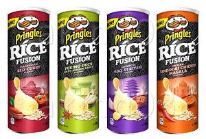 NEW-Pringles-Rice-Fusion-Potato-Chips-Crisps-Asian-Inspired-Flavors-160g