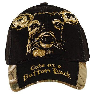 BUCK WEAR TODDLER HAT - CUTE AS A BUTTON BUCK, INFANT BABY, DEER  - NWT