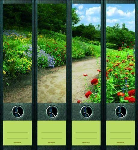 File Art 4 Design Ordner-Etiketten Flowers Along The Way.....................455