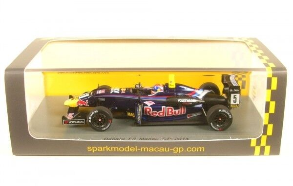Dallara f314 Volkswagen No. 5 7th Macao GP 2014 (Max Verstappen)