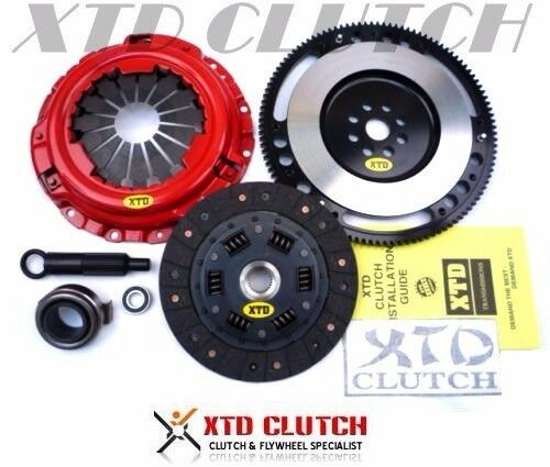 XTD STAGE 2 CLUTCH & 9LBS FLYWHEEL KIT 92-93 INTEGRA YS1 CABLE