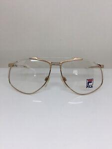 New-Vintage-Fila-Eyeglasses-Fila-6804-Eyeglasses-C-B-Gold-with-White-58-13mm