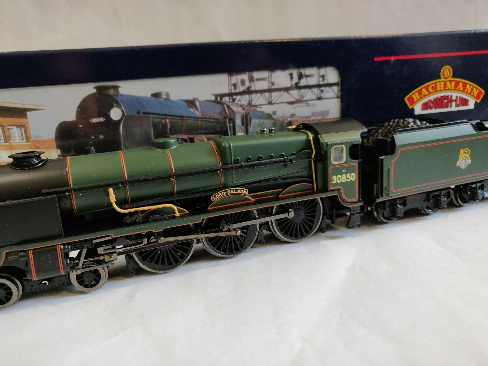 Bachuomon OO Gauge Locomotive Lord Nelson classe 30850 Lord Nelson BR verde 31408