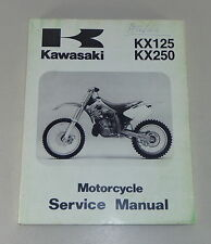Werkstatthandbuch / Workshop Manual Kawasaki GPZ 500 R / 600 R, von 1985