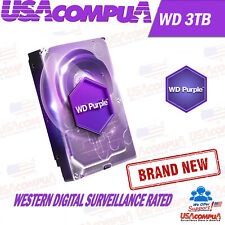 Western Digital 3 Тб WD Purple жесткий диск Sata 6Gb/s наблюдение жесткого диска лот