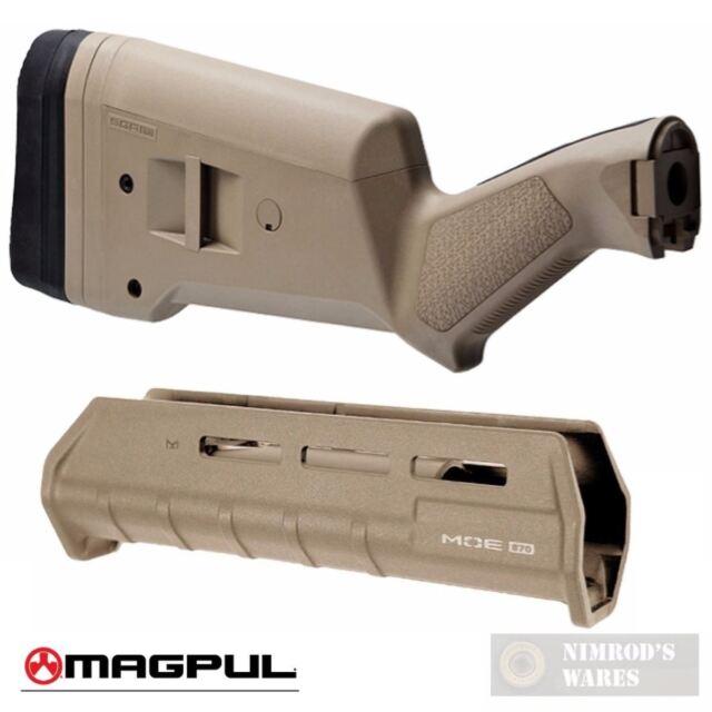 magpul sga stock amp forearm for remington 870 fde flat dark