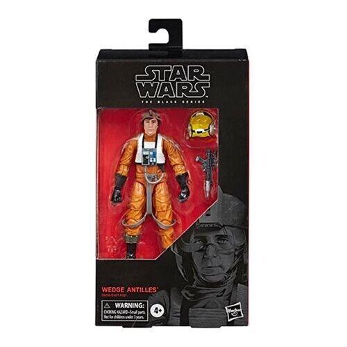 environ 15.24 cm Wedge Antilles Figure en stock USA Vendeur Star Wars The Black Series 6 In