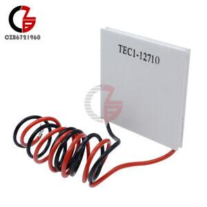 2PCS TEC1-12708 Heatsink Thermoelectric Cooler Cooling Peltier Plate Module
