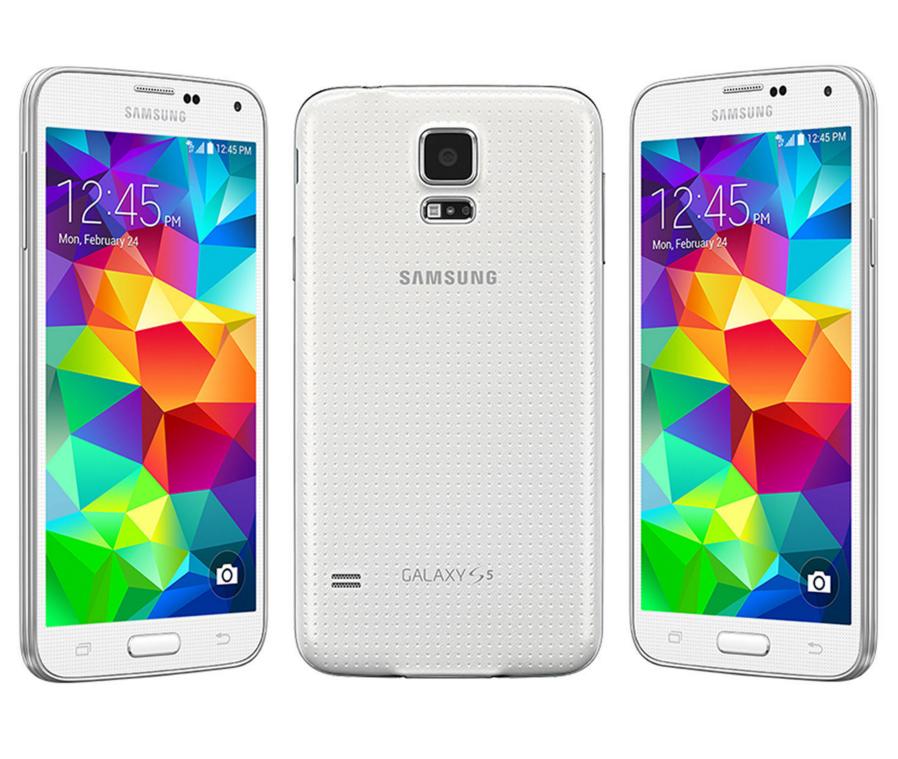 Samsung Galaxy S5 SM-G900H 16 GB White Unlocked