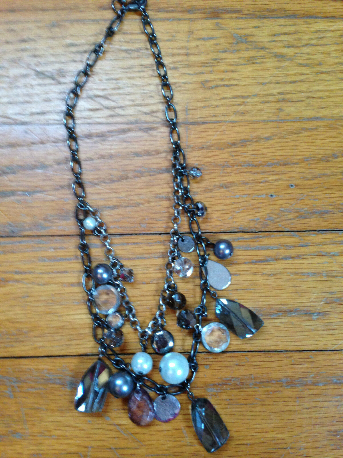 Costume Jewelry Lot Mixture of necklaces, and bra… - image 2