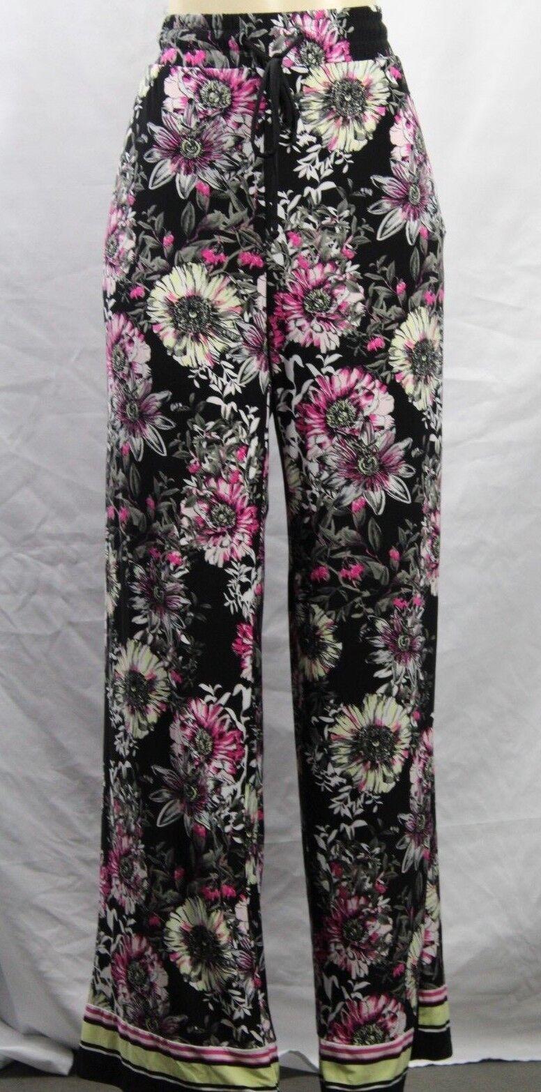 INC International concepts Floral Printed Wide Leg Pants NWT Size L