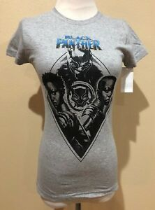 Gray Short Sleeve Marvel Black Panther