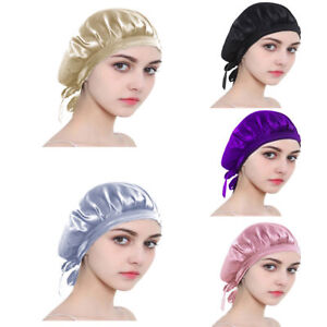 Image Is Loading 100 Mulberry Silk Sleeping Hat Lady Hair Care