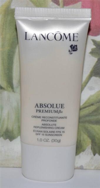 LANCOME Absolue Premium Bx Absolute Replenishing Cream SPF 15 Sunscreen 1 OZ