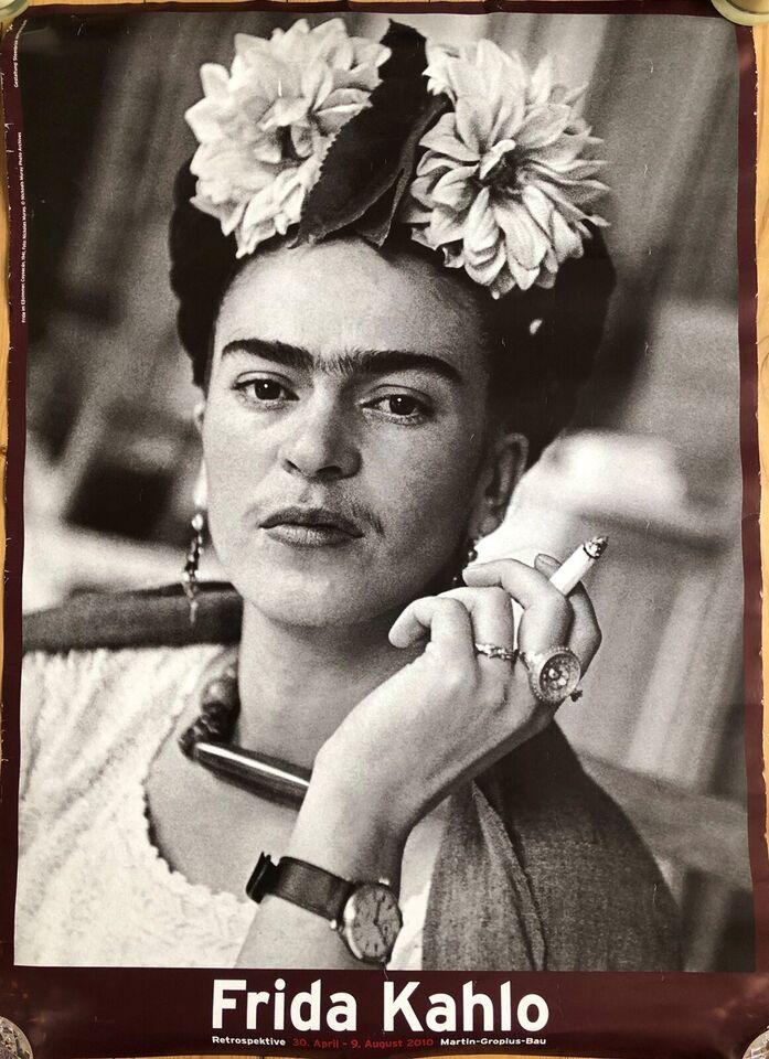 Plakat Frida Kahlo Dbadk Køb Og Salg Af Nyt Og Brugt