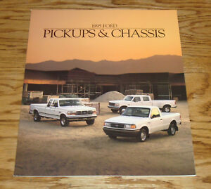 Original-1995-Ford-Commercial-Truck-Pickup-amp-Chassis-Sales-Brochure-95