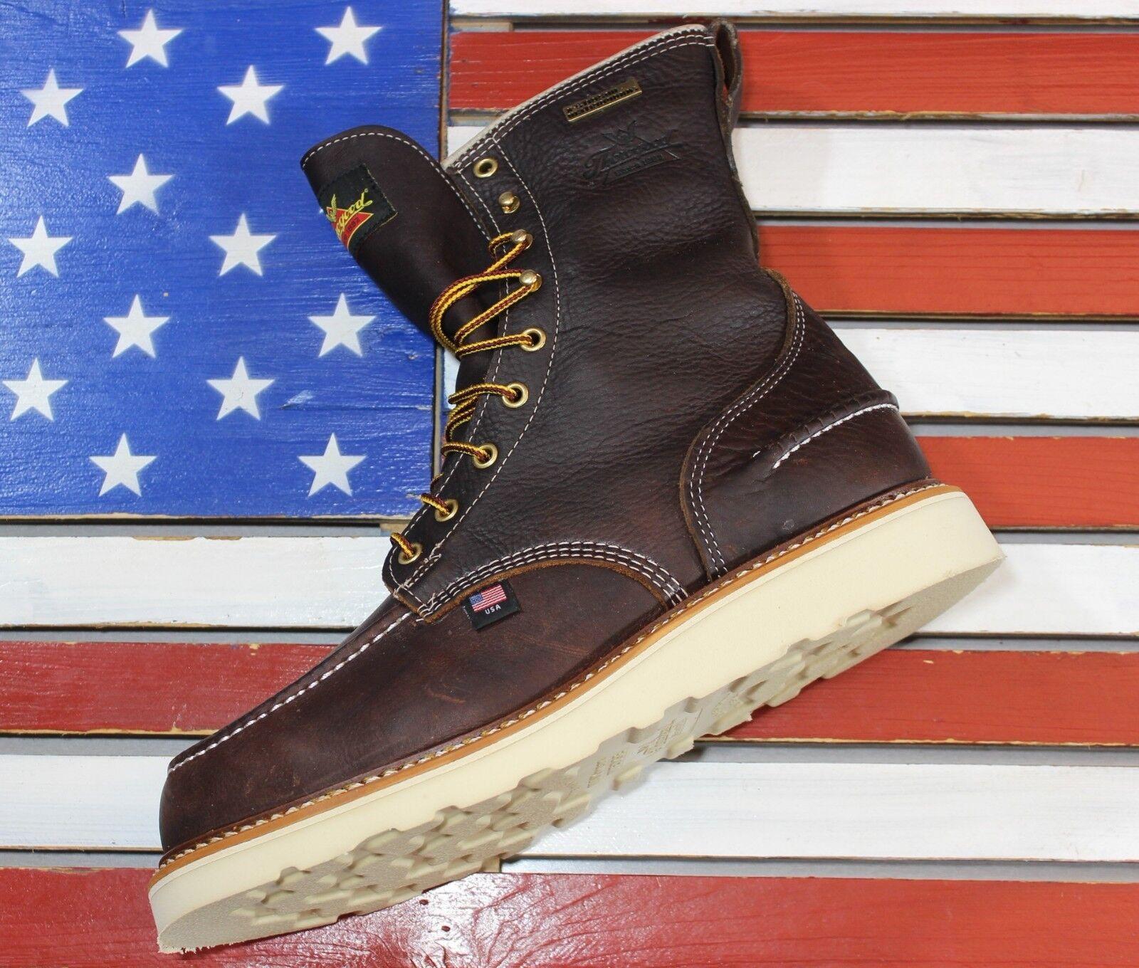 ThGoldgood American Heritage 8  Waterproof Wedge Work Stiefel  Made IN USA