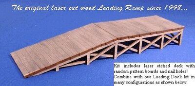 2019 Nuovo Stile Blair Line 074 Wooden Loading Ramp Banchina Con Vialetto N 1:160 Laser Cut-mostra Il Titolo Originale